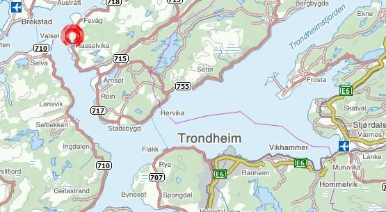 kart over rissa Plansmie for utvikling av Hasselvika i Rissa kart over rissa